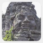 Face detail of the West Gate-Tower Gopuram), Sticker