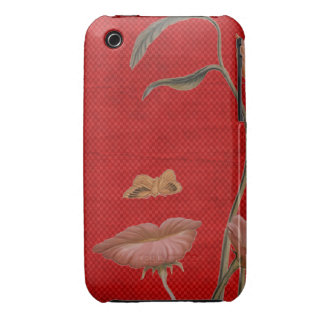 Face Flower illusion Blackberry Curve Case-Mate Ca iPhone 3 Cover