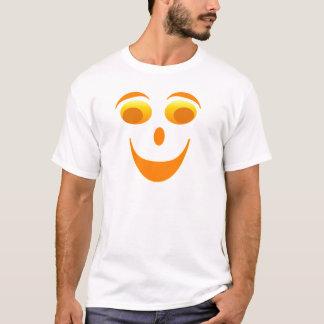 Face Googly Eyes - Orange, yellow colors. T-Shirt