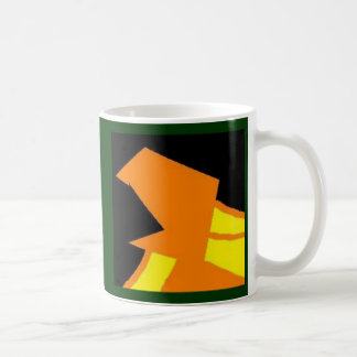 Face in a Dark Place Classic White Coffee Mug