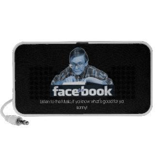 FACE-in-BOOK- SPEAKER BOX version 2.0