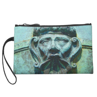 Face in the Cannon Wristlet
