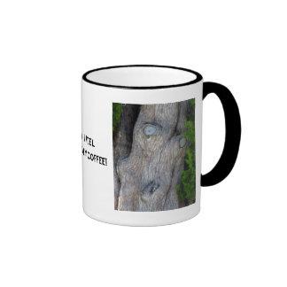 Face in the Cypress Tree, Ringer Mug