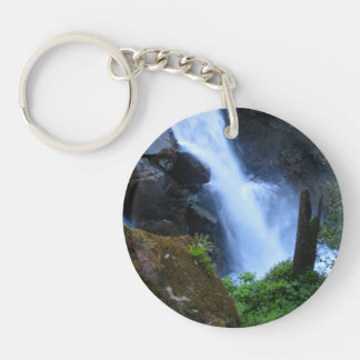 Face In The Falls Keychain