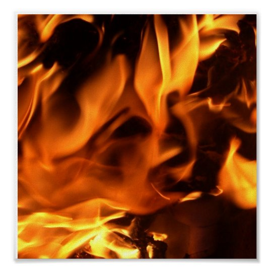 Face in the Fire Poster