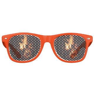 Face in the Flames Party Glasses