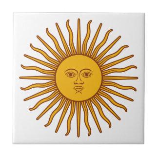 Face in the Sun - Sunshine Tile