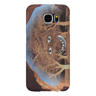 FACE IN THE TREES SAMSUNG GALAXY S6 CASE