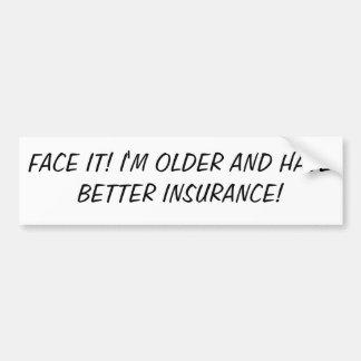 Face It! Bumper Sticker