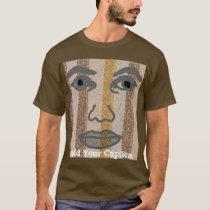 Face It Template T-Shirt