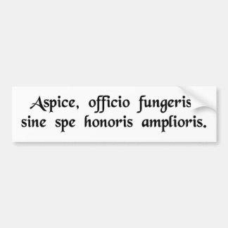Face it, you're stuck in a dead end job bumper sticker