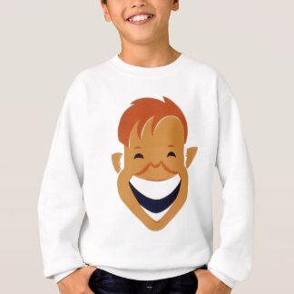 face laughing sweatshirt