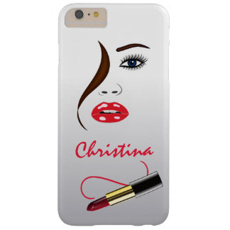Face Lipstick Kiss Mirror Slim iPhone 6 6S Plus Barely There iPhone 6 Plus Case