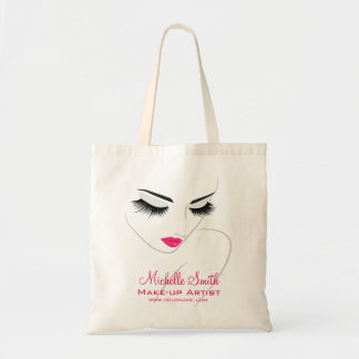 Face long lashes Lash Extensions Tote Bag