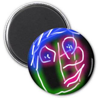 face magnet