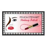 Face Makeup Artist Cosmetologist Business Cards
