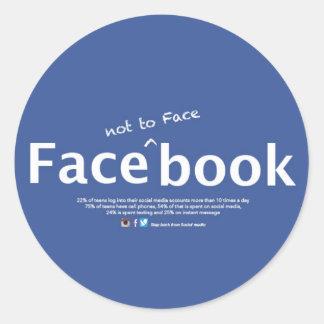 face_not al pegatina del face_book