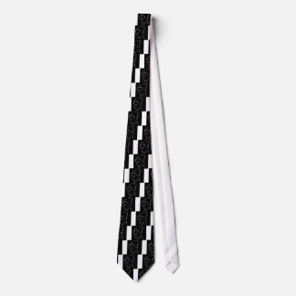 Face of a beautiful young woman neck tie
