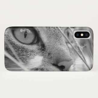 Face of a Cat iPhone X Case