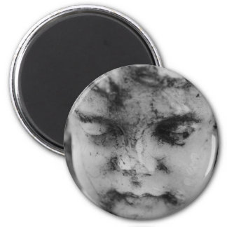 Face of a cherub magnet