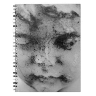 Face of a cherub notebook