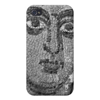 Face of a lady from the Church of St-Ambrosius iPhone 4 Covers