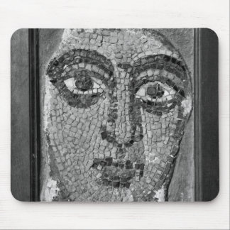 Face of a lady from the Church of St-Ambrosius Mouse Pad