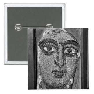 Face of a lady from the Church of St-Ambrosius Pinback Button