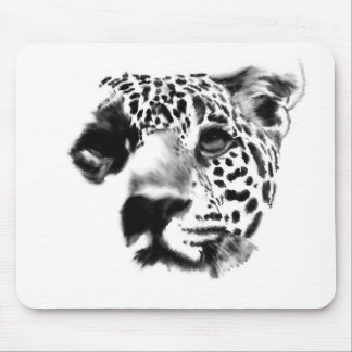 Face Of A Leopard Mouse Pad