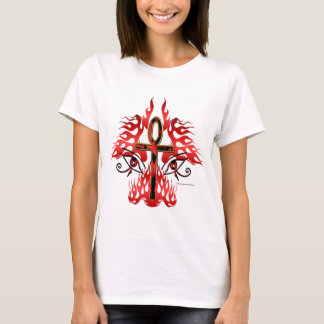 Face of Ankh Ladies T-Shirt