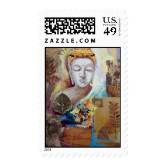 Face of Enlightenment Postage Stamps