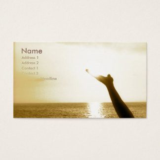 Face of God Aviation Business Card