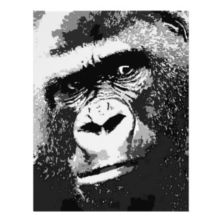 Face of Gorilla Flyer