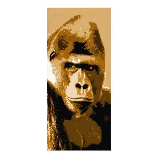 Face of Gorilla Rack Card