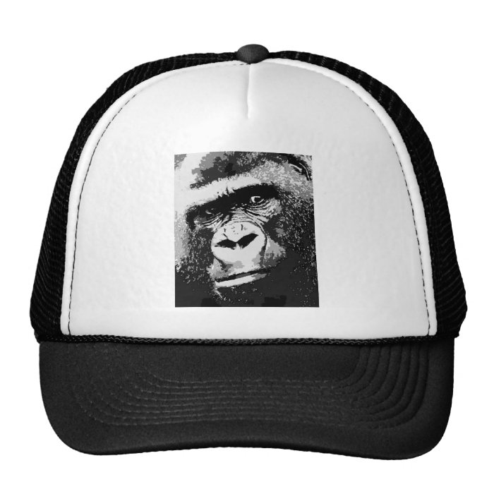 Face of Gorilla Trucker Hat