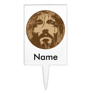 Face of Jesus Rectangle Cake Topper