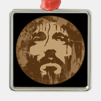 Face of Jesus Christmas Ornaments