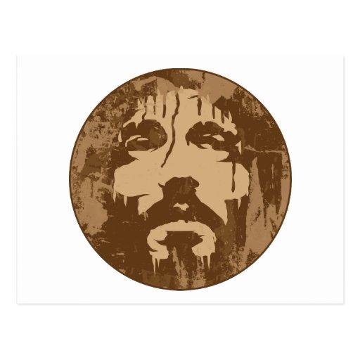Face of Jesus Postcard