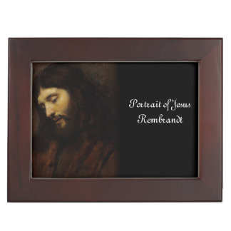 Face of Jesus Side View Keepsake Box