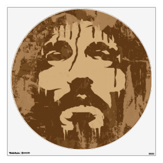 Face of Jesus Wall Decals