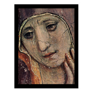 Face of Mary Postcard