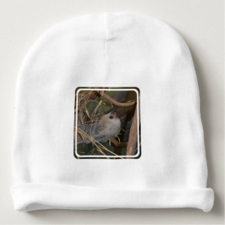 Face of Sloth Baby Beanie