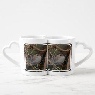 Face of Sloth Coffee Mug Set