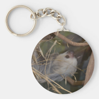 Face of Sloth Keychain
