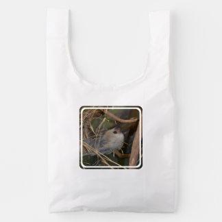 Face of Sloth Reusable Bag