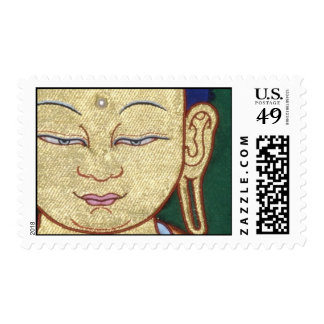 Face of the Buddha Postage Stamp