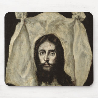 Face of the Christ Mouse Pad