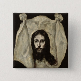 Face of the Christ Pinback Button