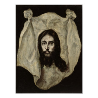 Face of the Christ Poster