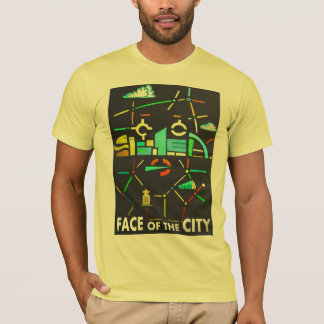 Face of the city t-shirt